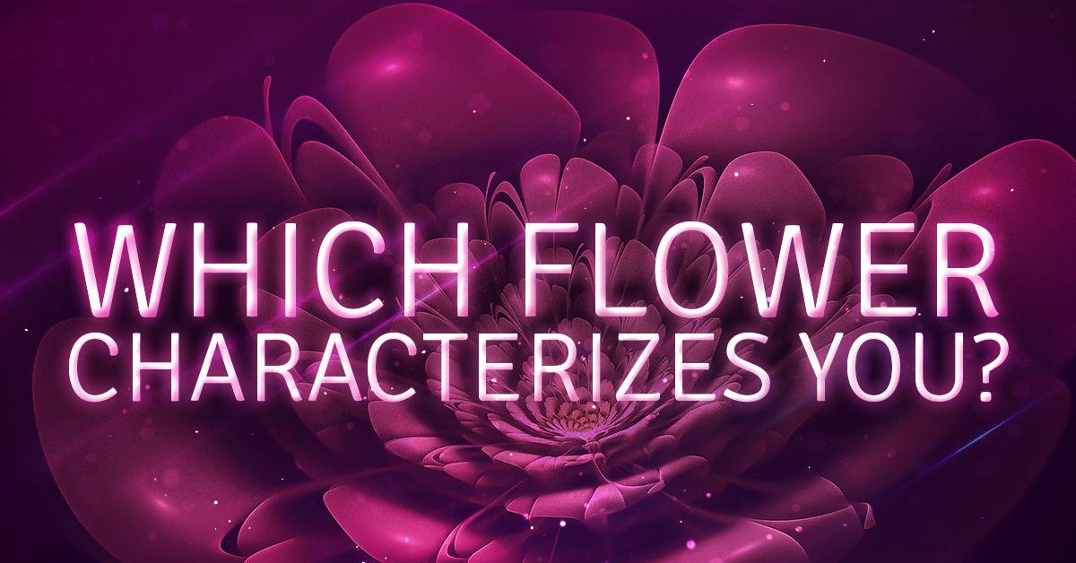 FlowerCharacterizesYou
